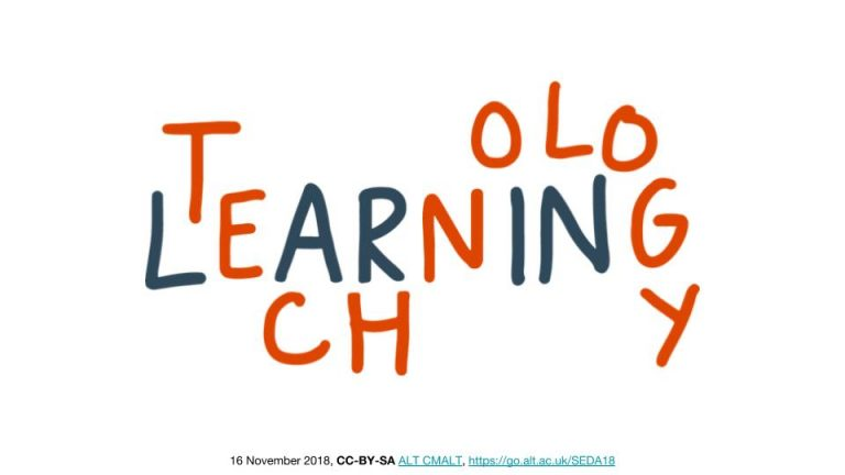 'Learning Technology in Higher Education – challenges and opportunities'